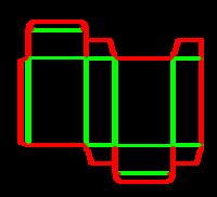 Dieline for İlaç tipi kutular | becf-111 A20.20.03.01