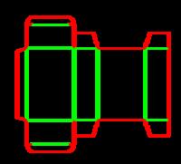 Dieline for İlaç tipi kutular | becf-231  0210