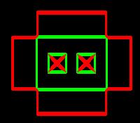 Dieline for Separators | becf-21f2