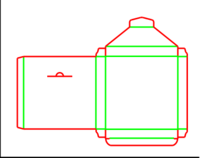 Dieline for Zarflar | becf-12c3