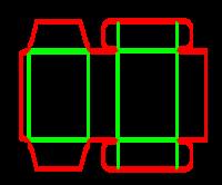 Dieline for İlaç tipi kutular | becf-121 A40.40.03.03