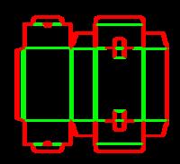 Dieline for İlaç tipi kutular | becf-124 A20.20.01.01.32.33