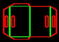Dieline for Folders | becf-12b6 F60.91.00.00