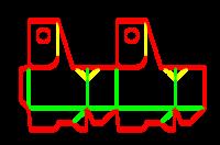 Dieline for Özel kutular | becf-11e16