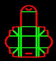 Dieline for Özel kutular | becf-11e14